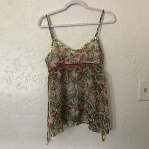 Tramp blouse, size small